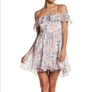 Off the shoulder floral dress - Women's size M